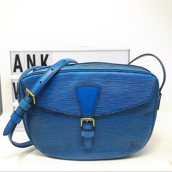 Louis Vuitton Handbags - Louis Vuitton Jeune Fille Blue Epi corssbody Bag